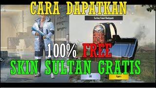 100% FREE !! CARA DAPATKAN TAS DAN SKIN SULTAN GRATIS PUBG MOBILE