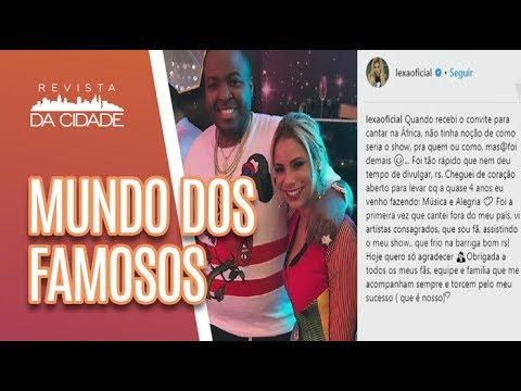 Lexa REVOLTA fãs ao cantar para filho de Ditador + Sandy é criticada - Revista da Cidade (27/06/18)