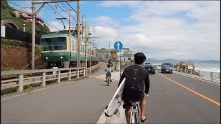Surfing a summer day at home in Shonan, Japan with Naomi Kobayashi. August 2019. Shot and edited by Jeremy Burkard, Slide.tv check out our IG@slide.tv.