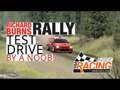Richard Burns Rally Test Drive - A Noob in Great Britain