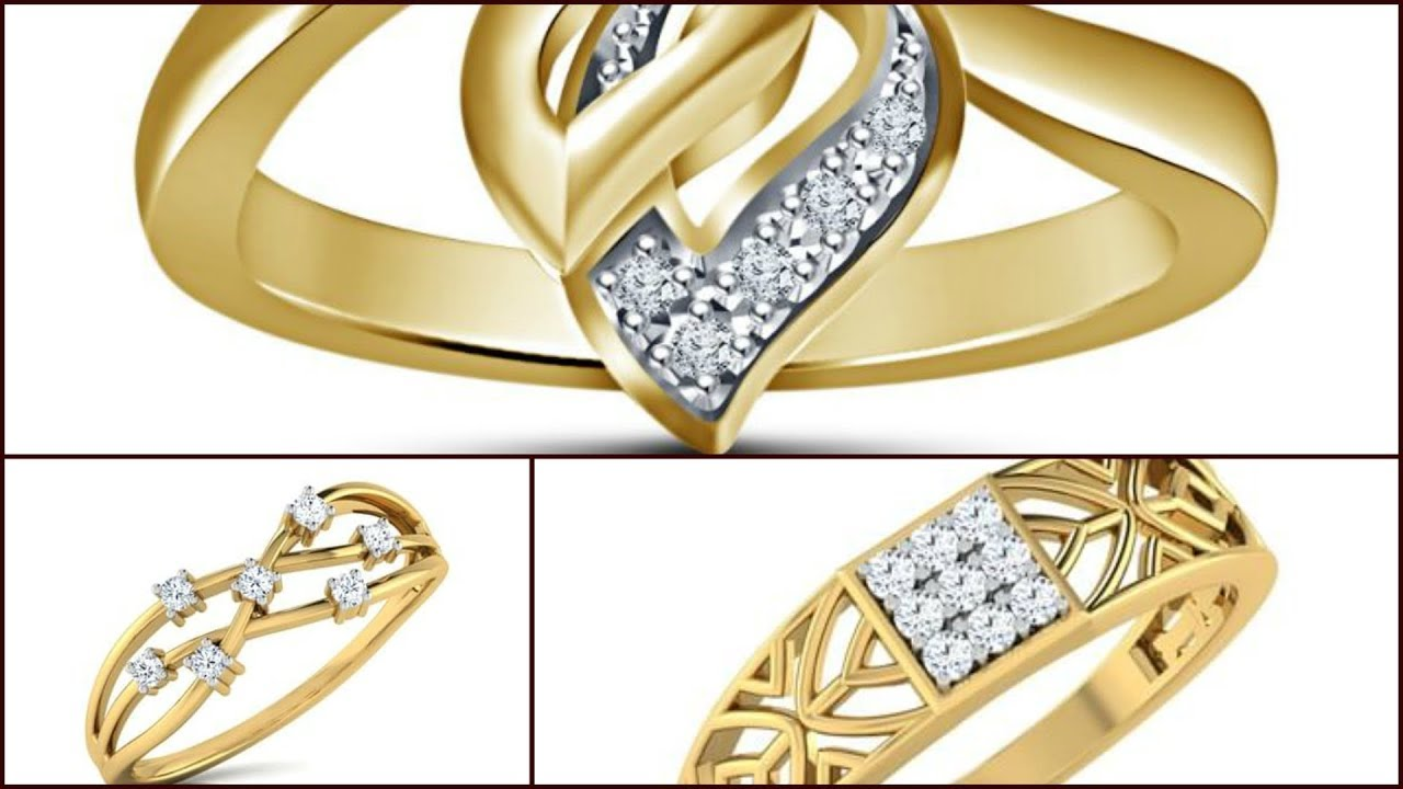Latest Cool Gold Rings Designs || Fantastic Models of Rings for ...