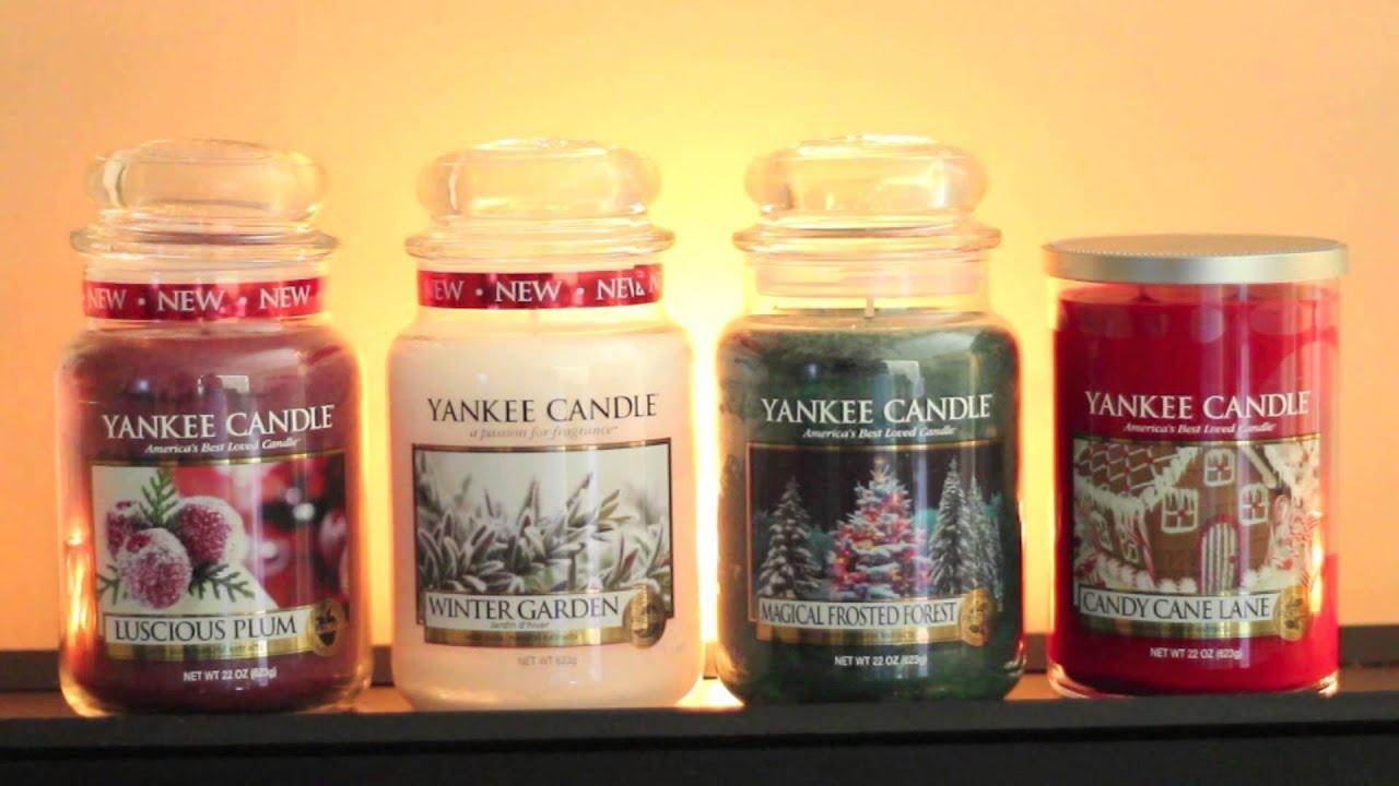 yankee candle 2014 holiday haul plus blooper youtube