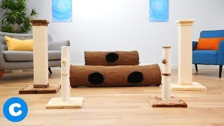 Frisco Play Tunnels & Cat Scratching Posts
