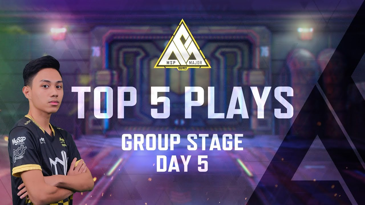 Top 5 Plays - Group Stage Day 5 - MSP Major