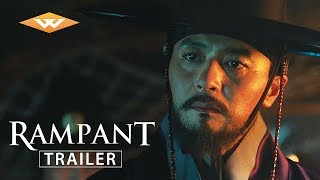 RAMPANT (2018) Official Trailer | Korean Zombie Movie