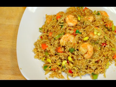 Shrimp fried rice – delicious recipes – how to cook rice – asian cooking – chinese fried rice