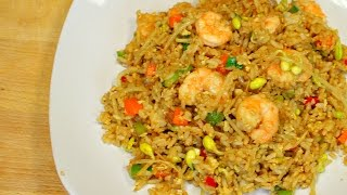 Shrimp fried rice - delicious recipes - how to cook rice - asian cooking - chinese fried rice