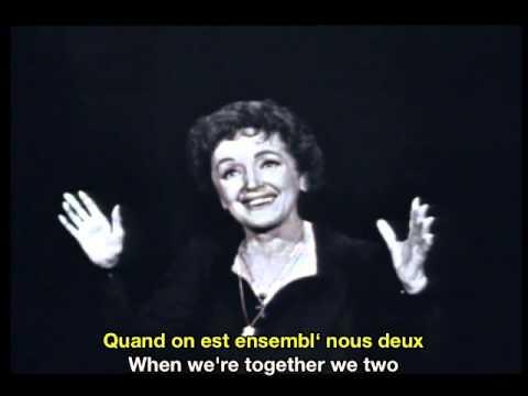 Edith Piaf Mon Manège à Moi French & English Subtitles