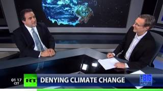 The Godfather of Climate Change Denial vs. Thom Hartmann
