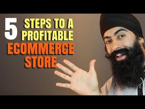 5 Steps To Start A Profitable ECommerce Business | Minority Mindset - Jaspreet Singh