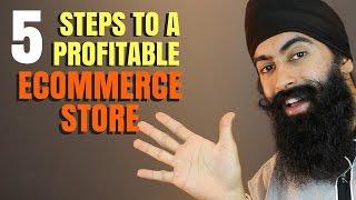 5 Steps To Start A Profitable ECommerce Business   Minority Mindset - Jaspreet Singh