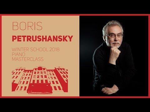 Piano / Masterclass / B. Petrushansky | Фортепиано / Мастер-класс / Б.В. Петрушанский | 1/2