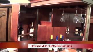 Howard Miller Wine And Bar Cabinet | 695064 Sonoma
