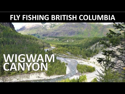 Fly Fishing British Columbia Wigwam River Canyon September