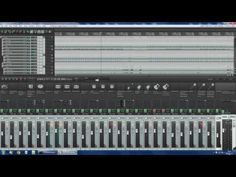 Mixing live band rehearsal with Reaper and Waves