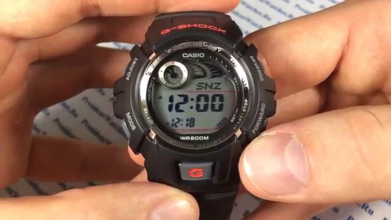 касио g-shock инструкция на русском g2900