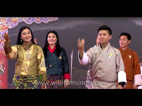 Bhutanese dance by celebrities, Bhutan week in India