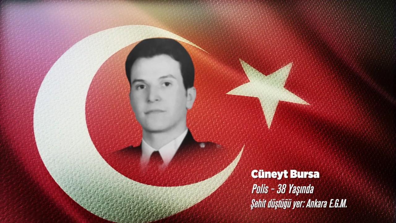 15 Temmuz Şehidi Cüneyt Bursa