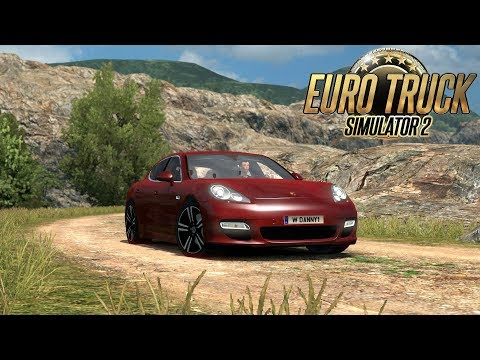 ETS2 Porsche Panamera - Best Car Mod (Euro Truck Simulator 2)
