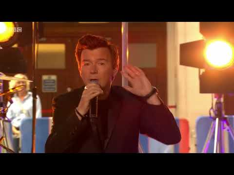 Rick Astley - Beautiful Life Live On The One Show. 18 July 2018