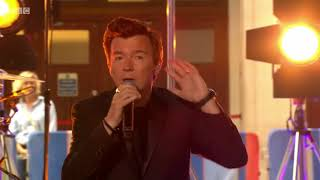 Rick Astley Beautiful Life live on The One Show. 18 July 2018.mp3