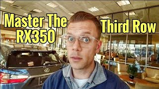 Master The 2018 Lexus RX 350L Third Row - Tips and Tricks