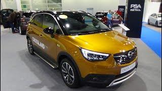 2019 Opel Crossland X 1.2i Ultimate - Exterior and Interior - Auto Zürich Car Show 2018