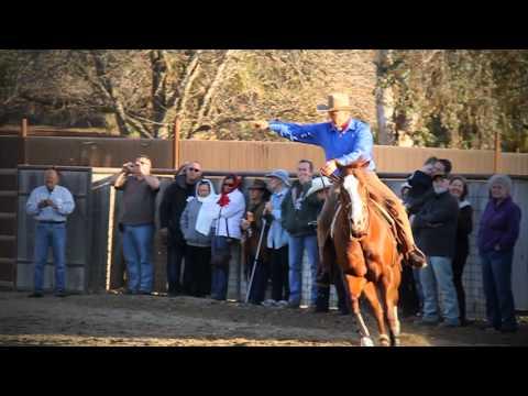 Monty Roberts' Horse Sense and Healing Clinics