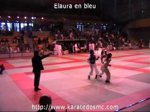 Karate Coupe de provence benjamines kumite elite 2011