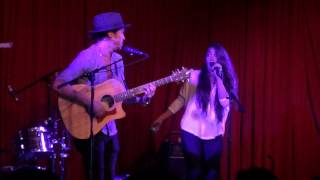 "Alex & Sierra at the Hotel Cafe 7/14/2015 *New song!! ""Friends with Benefits""/""Lights Off"""