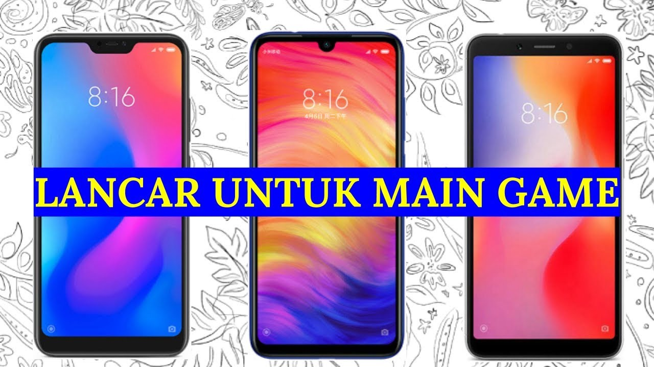 5 Hp Xiaomi Ram 4 Gb Murah 2019 Harga 1 2 Jutaan Youtube