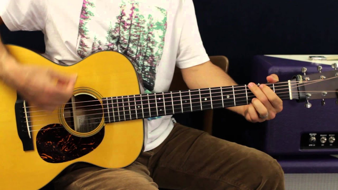 How To Play Carrie Underwood Little Toy Guns Guitar Lesson