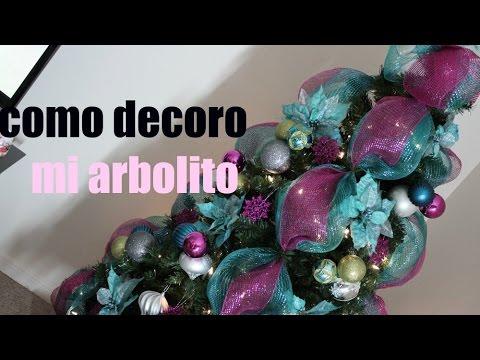 Decoraciones navide as mi arbol de navidad youtube - Decoraciones del arbol de navidad ...