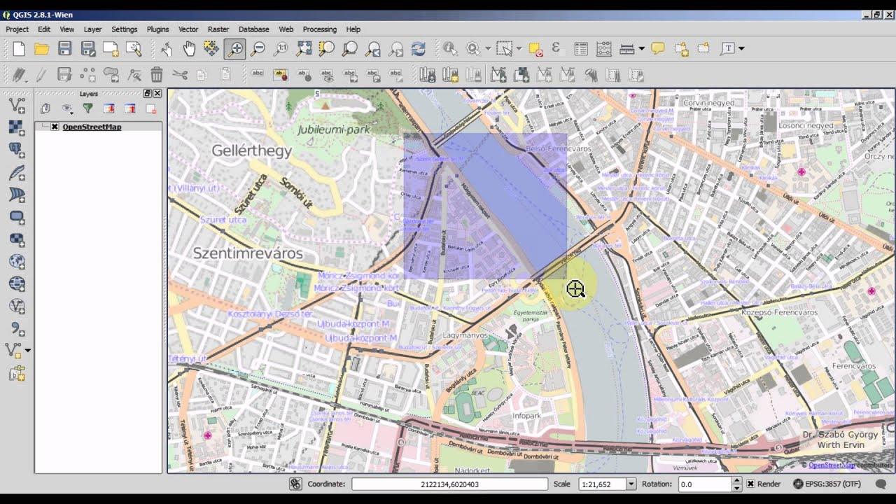 QGIS Tutorial 1/12: OpenLayers Plugin, Navigation, Web layers