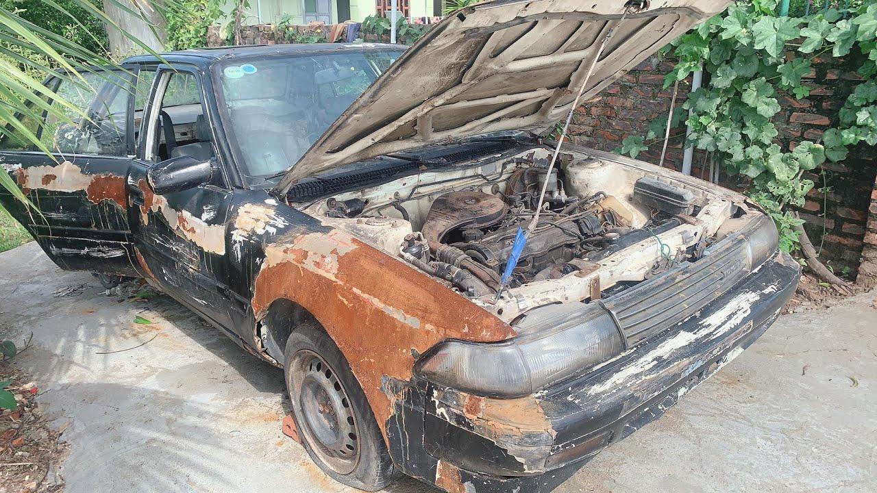 Restoration Car TOYOTA CORONA rusty - Repair manual Comprehensive restore old cars - Part 5