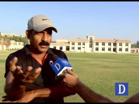 Incomplete  Regional Cricket Academy in Karachi