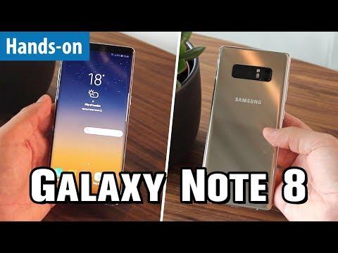 GALAXY NOTE 8 - Samsungs neues Super-Phone im Hands-on