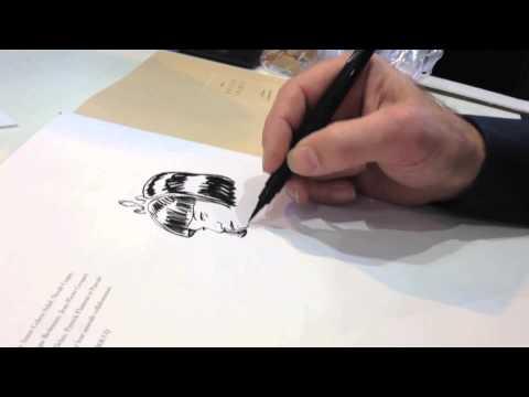 Speed Drawing : Little Tulip - François Boucq En Dédicace