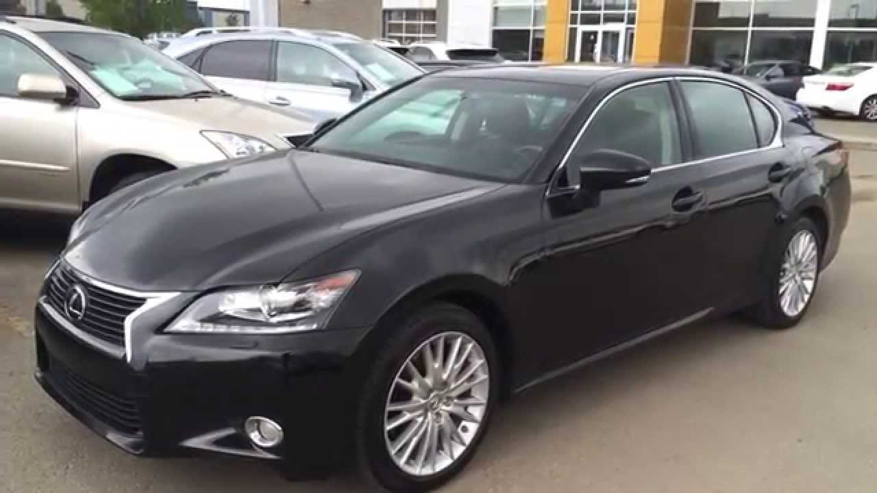 lexus certified pre owned 2013 gs 350 awd luxury package review camrose red deer alberta. Black Bedroom Furniture Sets. Home Design Ideas