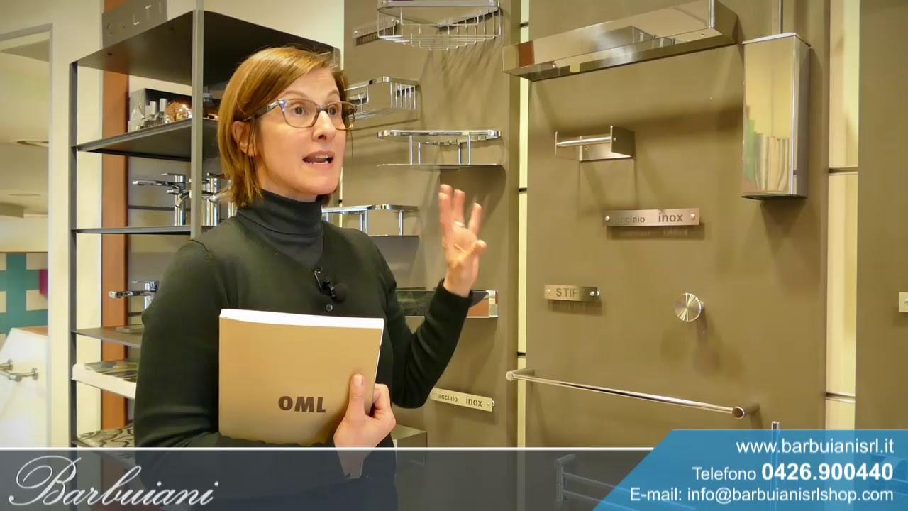 Scopri la serie Piana e la serie Stiff OML | Accessori bagno in acciaio inox