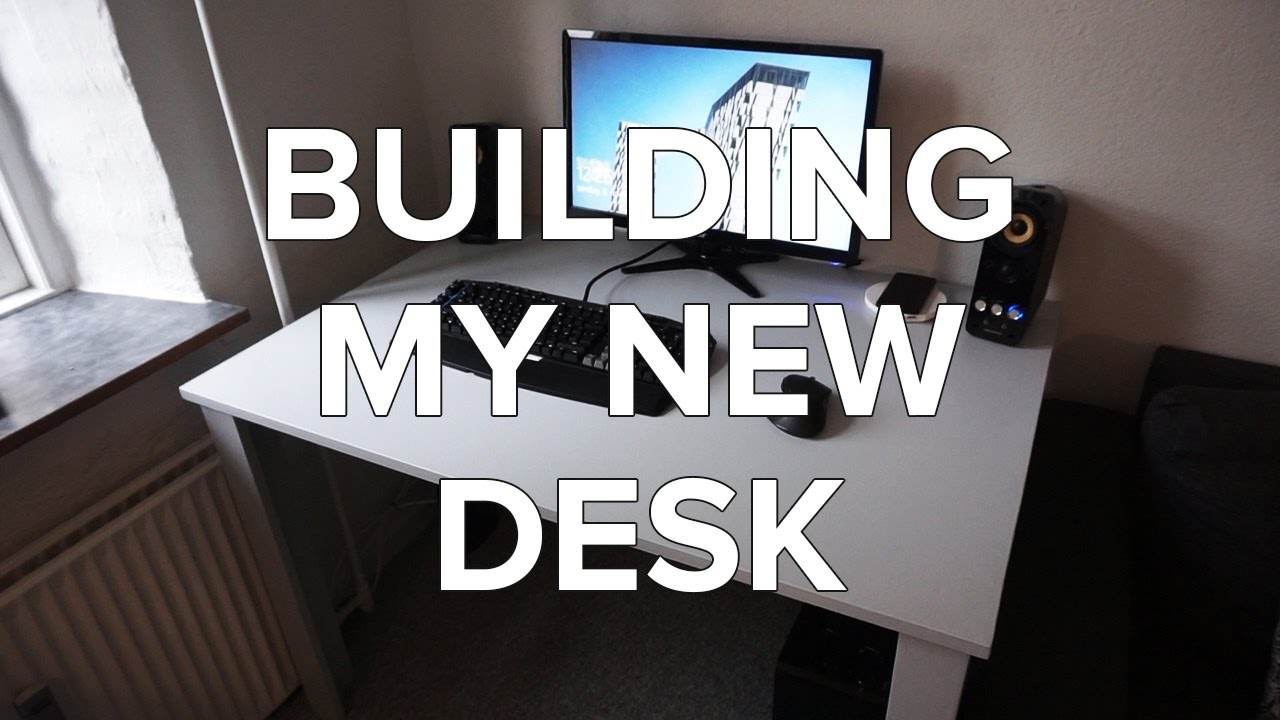 How to build your own computer desk