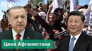 Китайцы в Афганистане, Турция против талибов. Мировые интересы в Центральной Азии