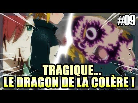 TRAGIQUE... LA NAISSANCE DU DRAGON DE LA COLÈRE MELIODAS !!! - NANATSU NO TAIZAI #09