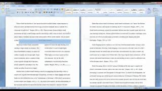 Section Breaks for MS Word 2007 (Windows)