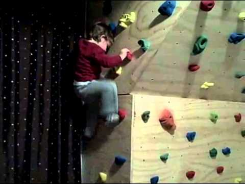 Indoor Climbing Wall  Home Bouldering In The Bedroom.