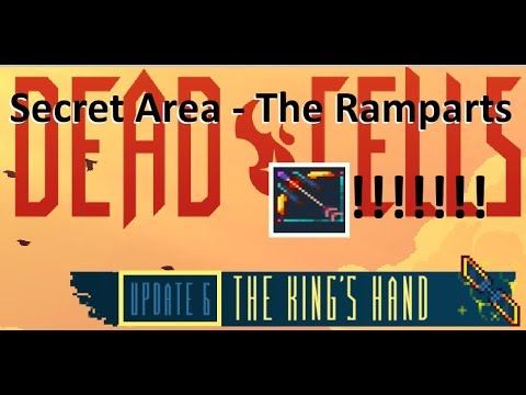Secret Area The Ramparts Update 6 Dead Cells Youtube