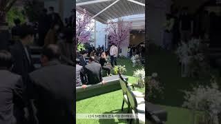 예쁨가득 꿈같던 야외예식 현장 속으로(feat.강아지화…