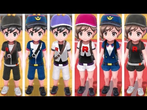 7eee669793 Pokemon Let's Go Pikachu & Eevee - All Trainer Outfit Locations