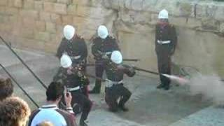Fort Rinella, Malta, Firing Volley