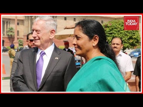 US Defence Secretary Meets India's Defence Minister